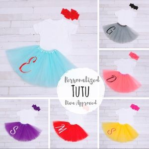 Other - Personalized 3 Layer Girls Tutu - Diva Approved!